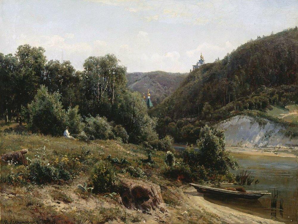 У монастыря 1870.jpg