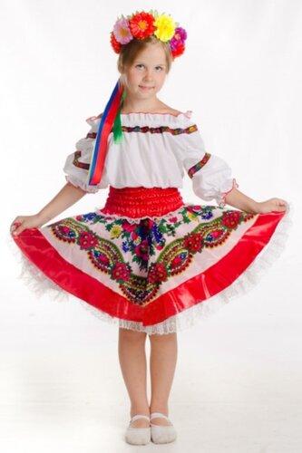 Детский карнавальный костюм в русском стиле