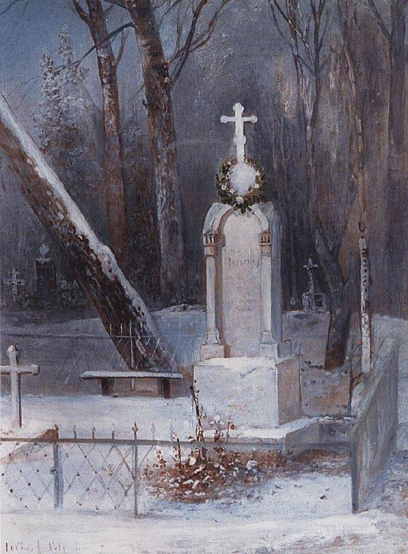 Могила. 1884.jpg