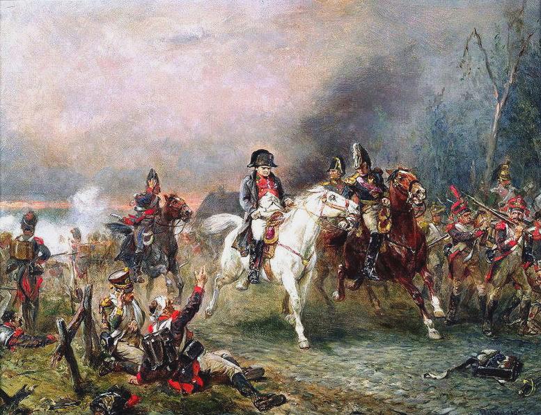 Наполеон при Ватерлоо Robert Alexander Hillingford.jpg