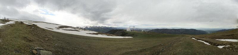 Панорама с мишени