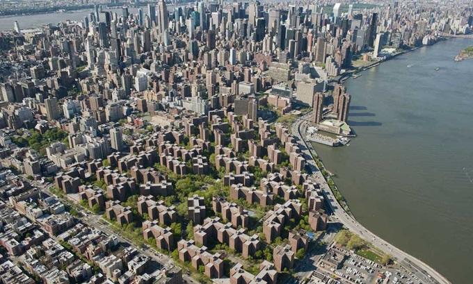 Центральный вокзал Нью Йорка с высоты птичьего полета и другие красивые фотографии