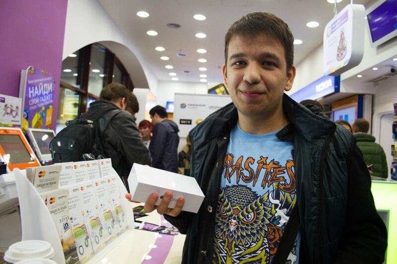 Старт продаж iPhone6 в России