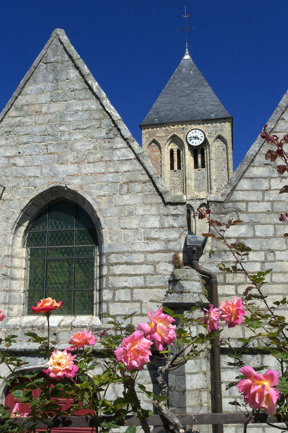 Veules-les-Roses, йglise St-Martin, clocher