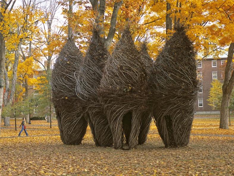 Патрик Догерти / Patrick Dougherty - древесные инсталляции