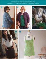 Журнал 5 Free Knitting Patterns for Women jpg 27Мб