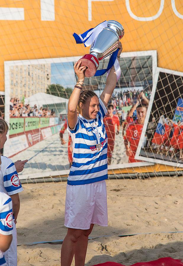 Пляжный футбол Анапа