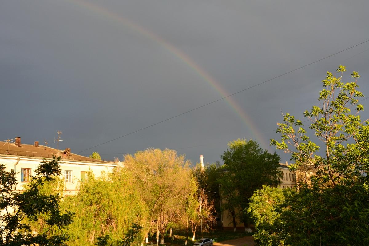 Что значит: увидеть радугу Примета