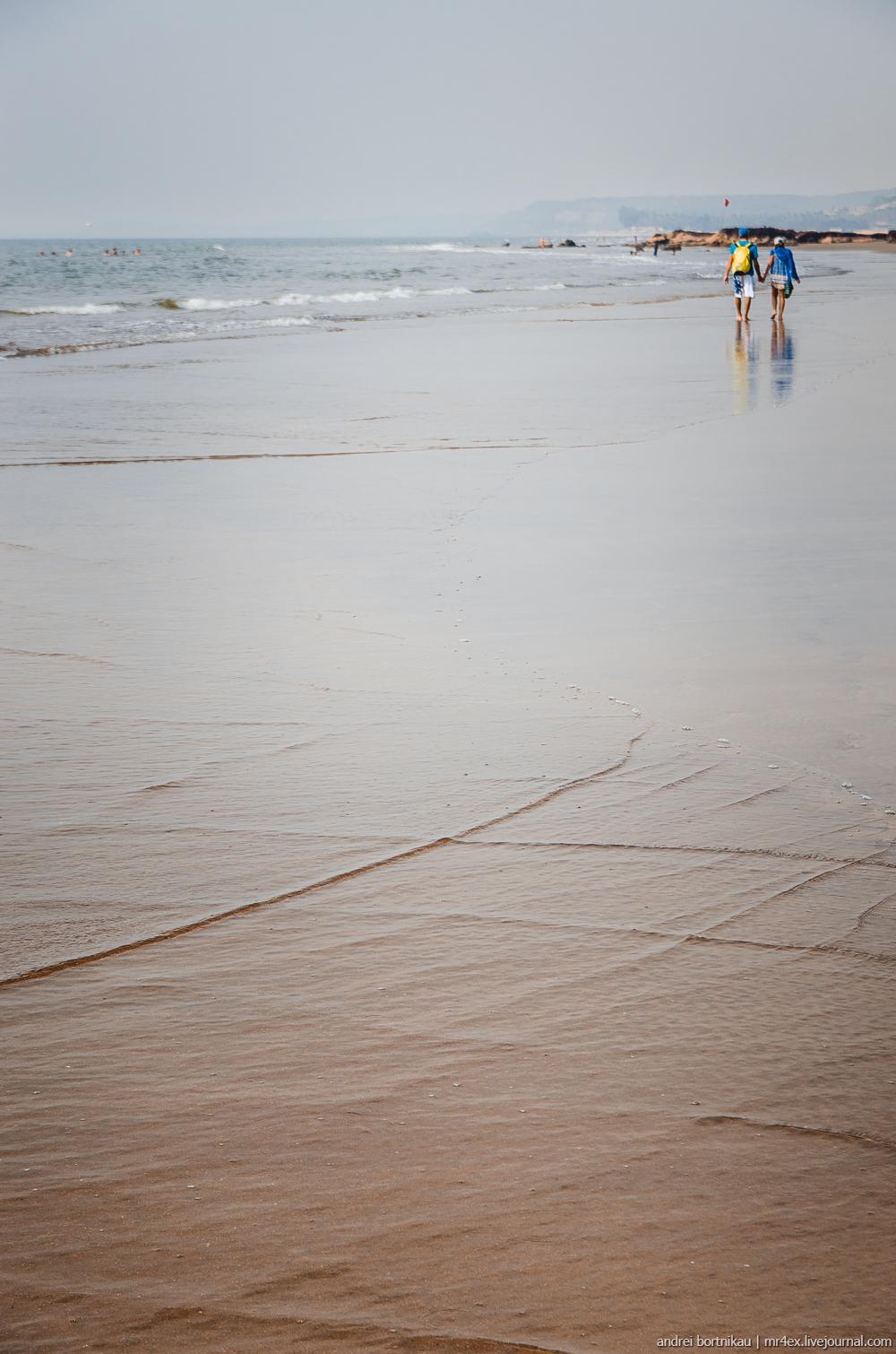 Индия, Гоа, Ашвем, море, Аравийское море, Goa, Ashvem