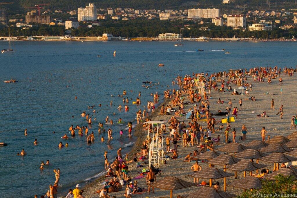 Городской пляж, Геленджик
