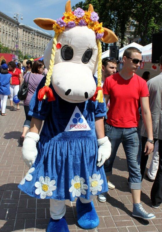 Фестиваль мороженого на Крещатике