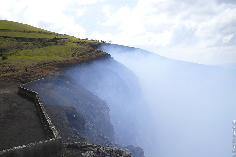 Никарагуа, вулкан Масайа