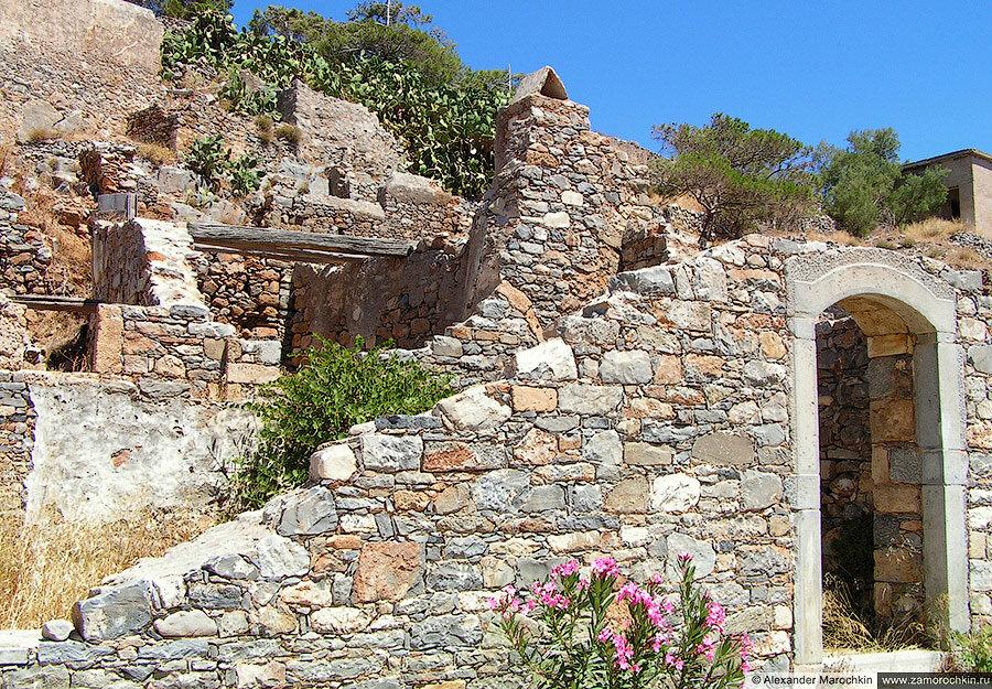 На острове Спиналонга, Крит