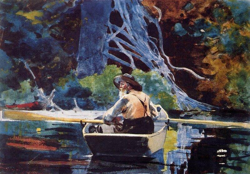 Уинслоу Хомер, Гид в Адирондаках, 1894