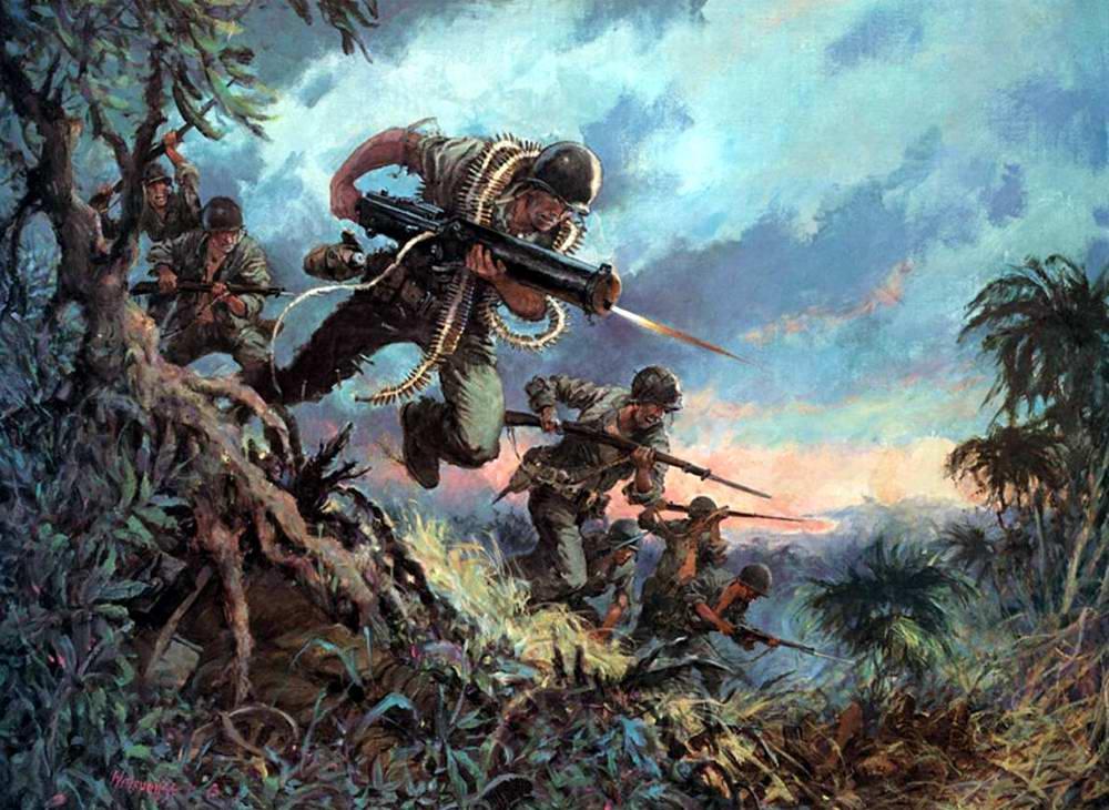 Герои на Кровавом хребте - битва за Гуадалканал, Соломоновы острова, 26 октября 1942 года