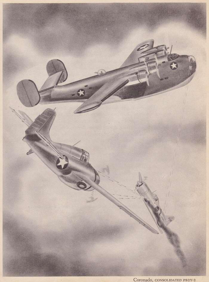 Consolidated PB2Y Coronado - патрульный гидросамолет-бомбардировщик