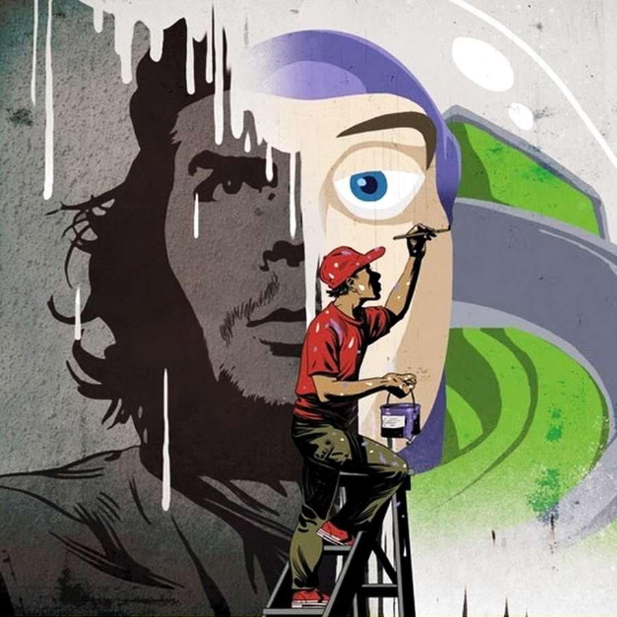 Социальный арт от иллюстраторов Asaf и Tomer Hanuka (Израиль) (12)