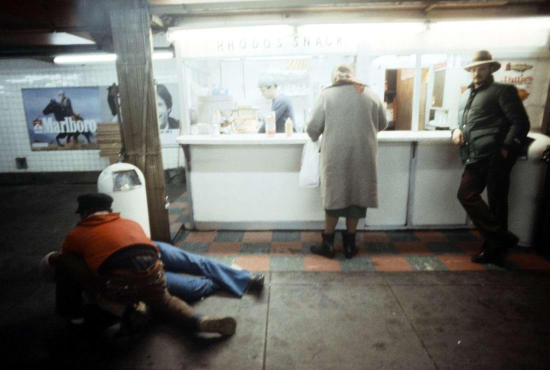 Американский фотограф Christopher Morris: Граффити и андеграунд нью-йоркского метро (22)