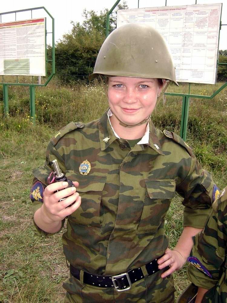 От тайги до британских морей ... : Лица девушек из Российской армии (4)