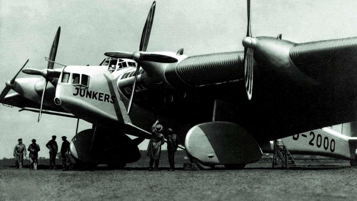 Большая железная птица: Немецкий транспортный самолет Junkers G-38 (1929 год)