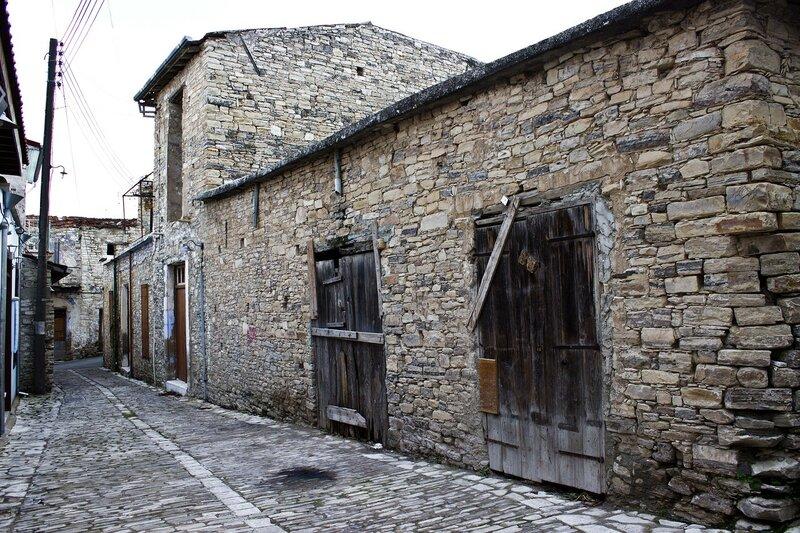 улочка в Пано Лефкара