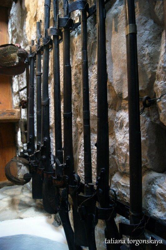 Ружья в музее