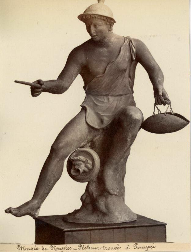 1875. Статуя из Помпей