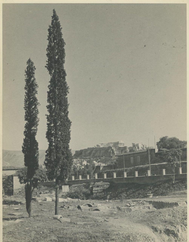 Афины. Акрополь, отдаленный вид