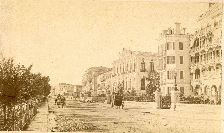 Английская набережная 1870