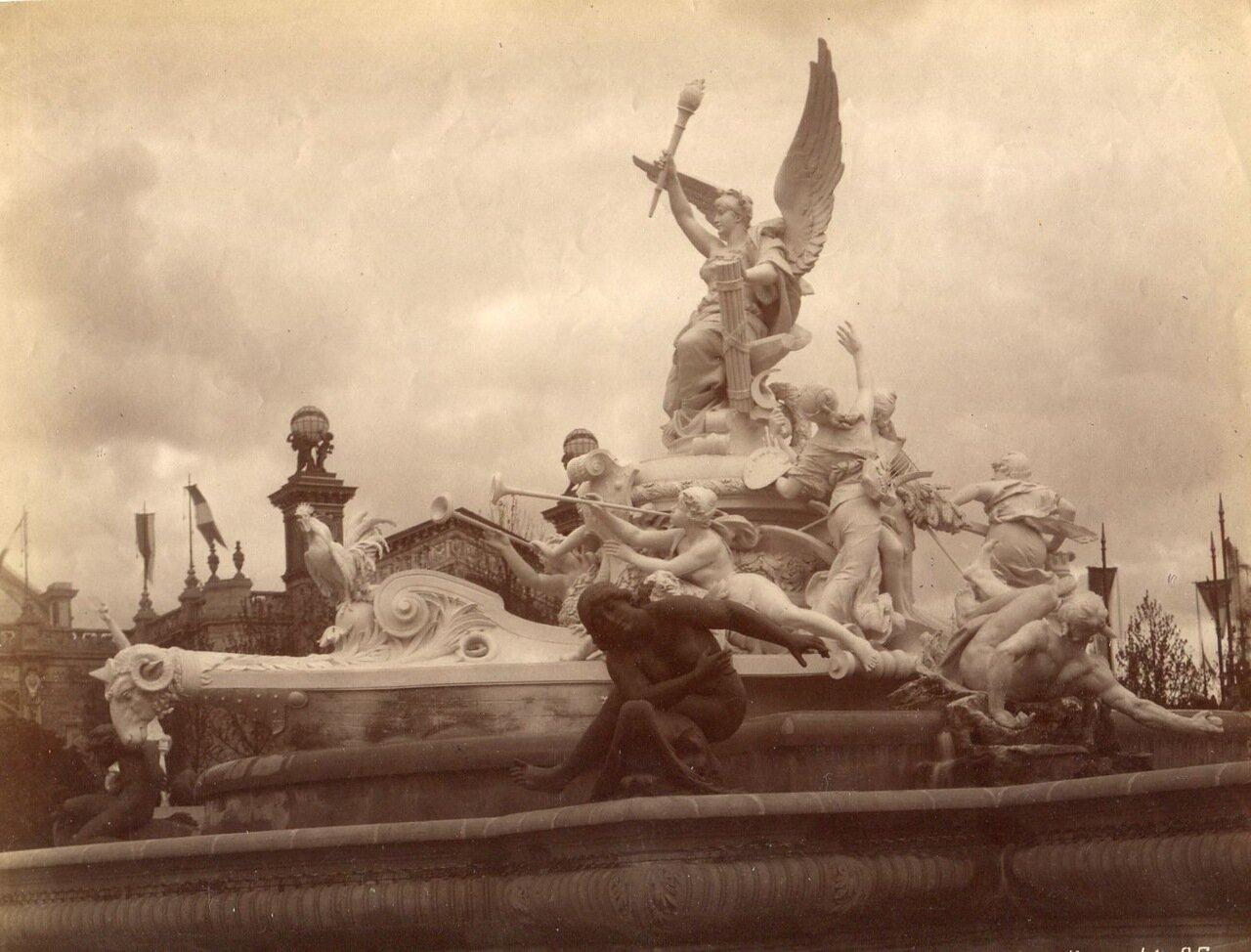 Монументальный фонтан
