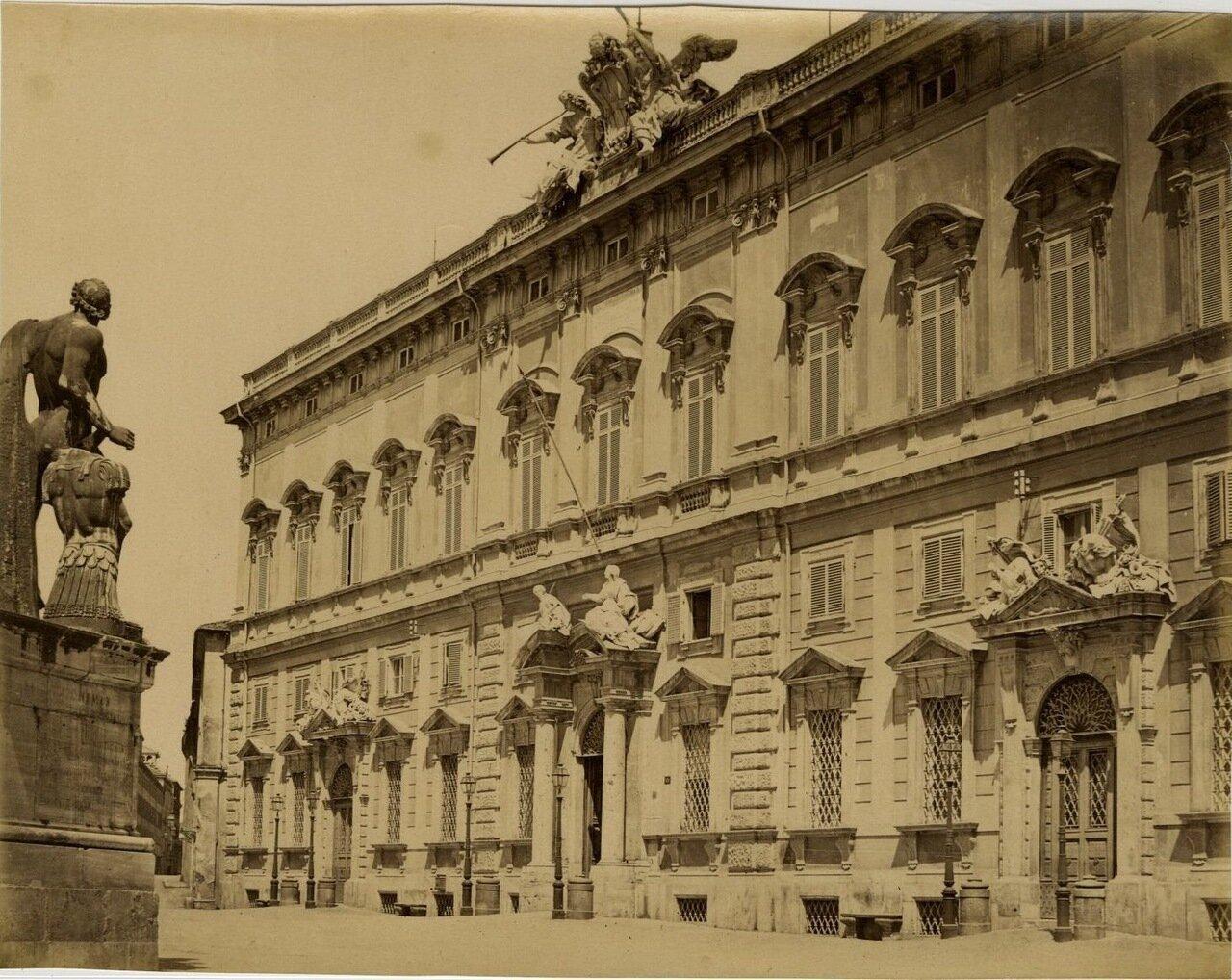 Дворец Консульта. 1870.