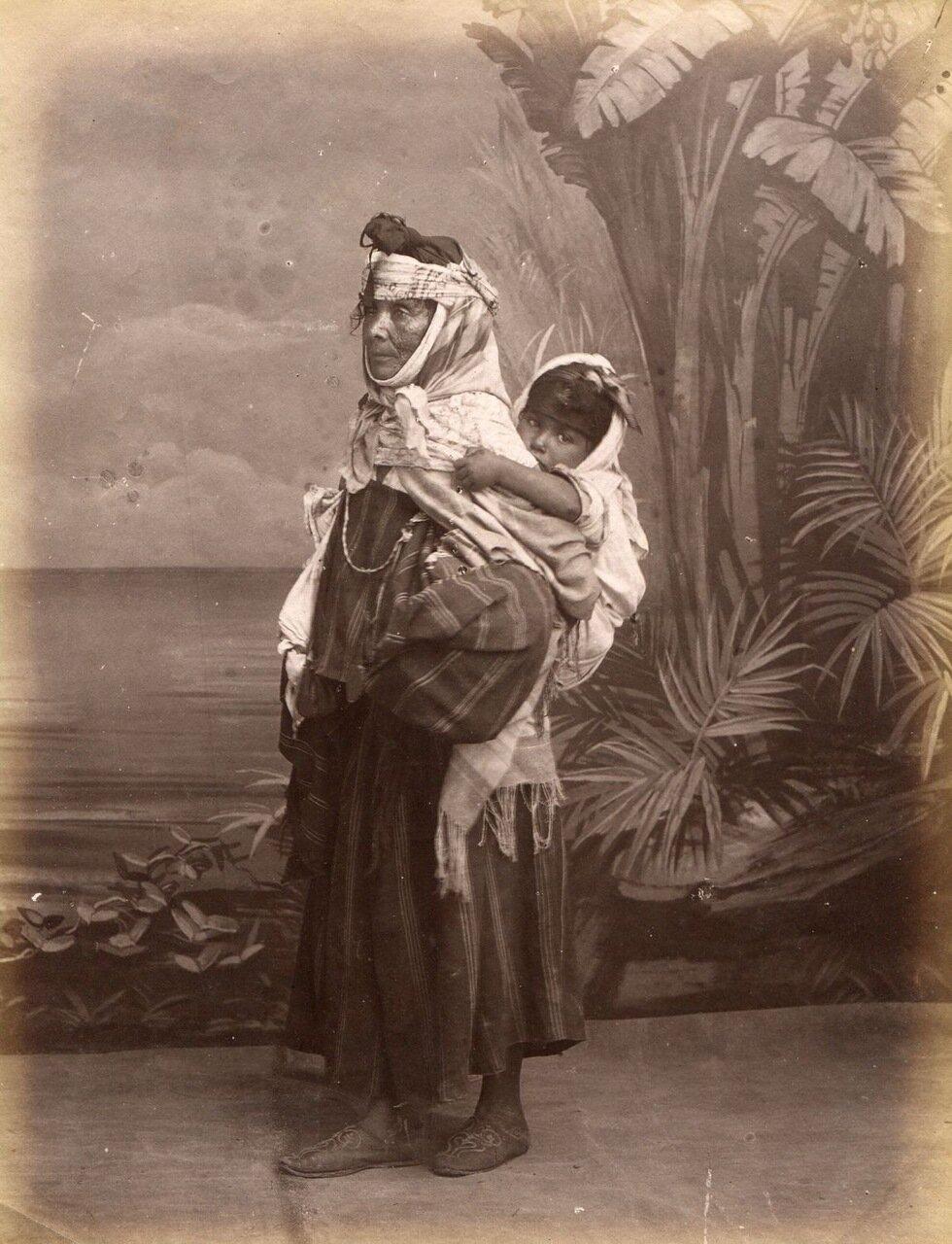 1880. Попрошайка из Кабилы