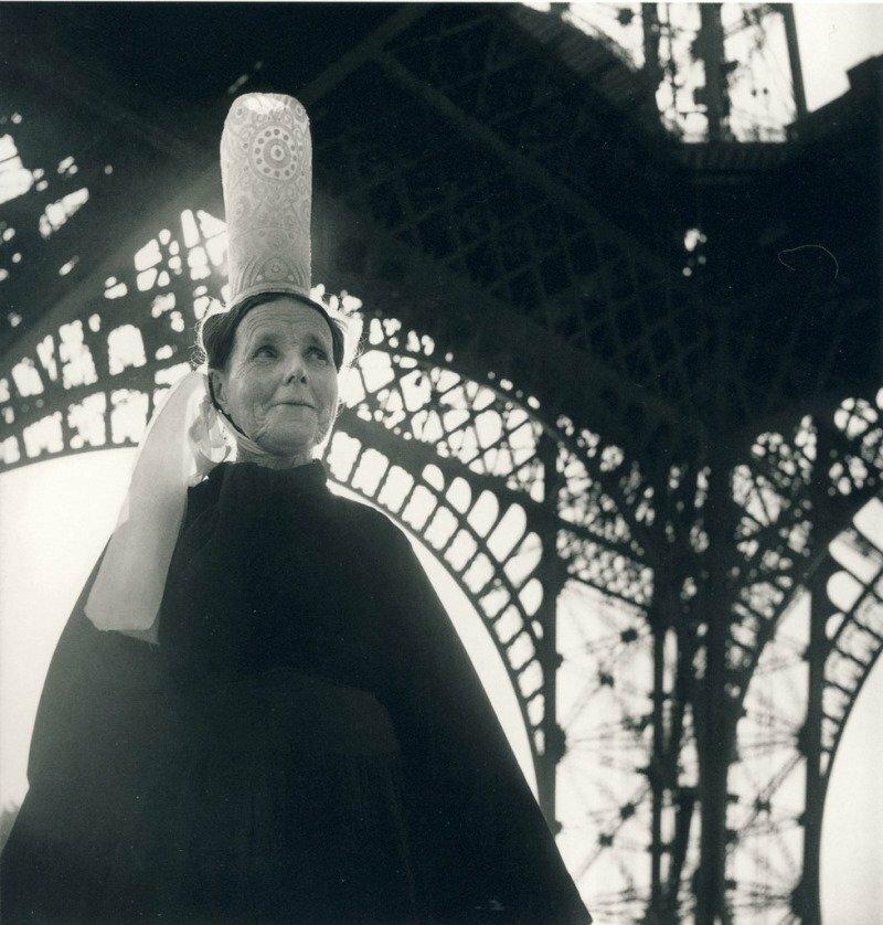 1950. Эйфелева башня и бретонка