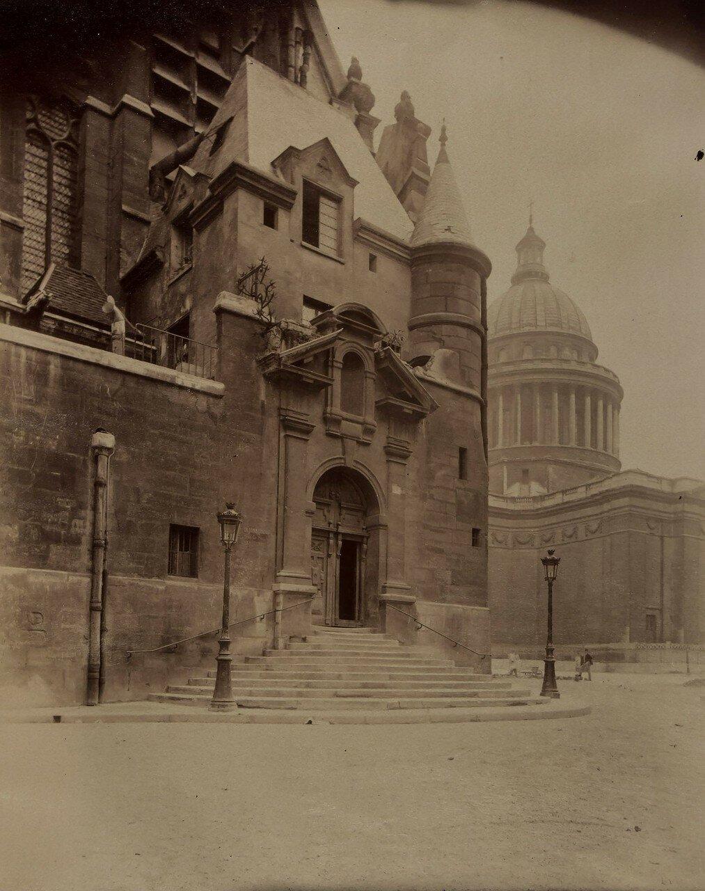 1898. Сент-Этьен-дю-Мон и Пантеон