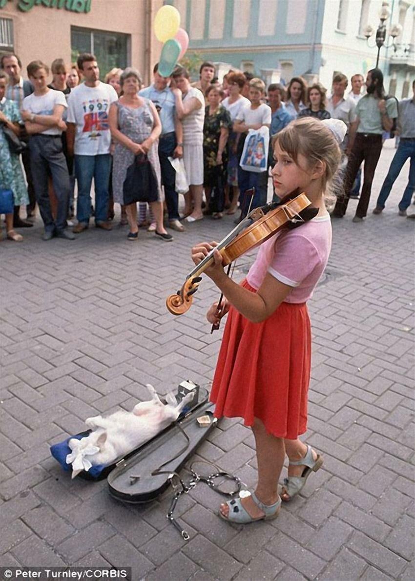 1991. Москва. Арбат