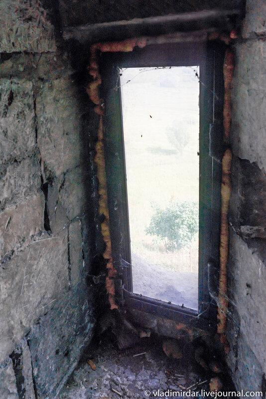 Лестничное окно
