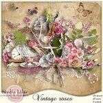 Scrap set - Vintage roses