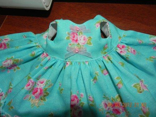 Сшить платье с подкладом без рукавов