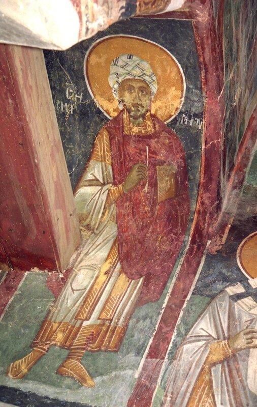 Святой мученик и бессребреник Дамиан Аравийский.