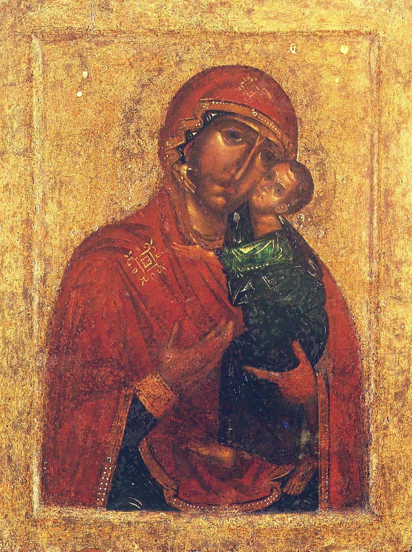 Толгская икона Божией Матери. Около 1314 года.