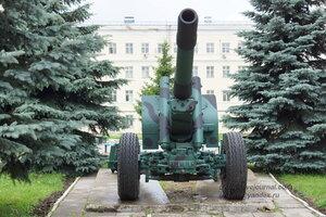 152-мм гаубица-пушка образца 1937 года МЛ-20. Военная техника на территории 106 гв.дивизии ВДВ (бывшийТАИИ), Тула