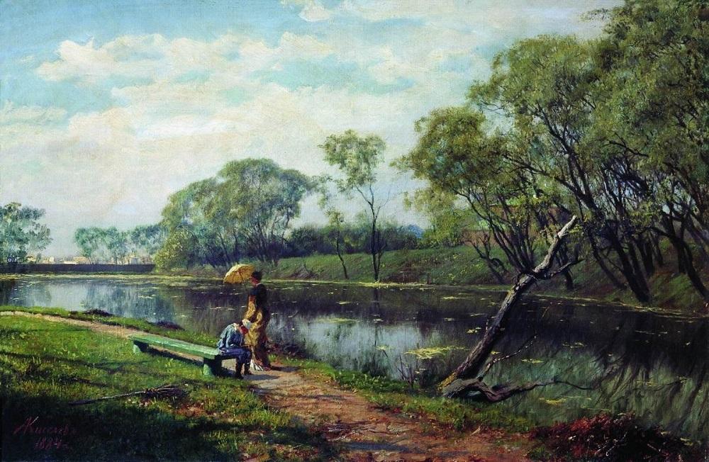 Река. холст масло 45 х 68 см Одесский художественный музей.jpg