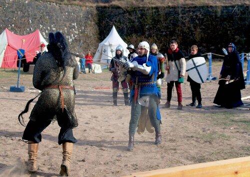 Бой Артура и Мордаунта