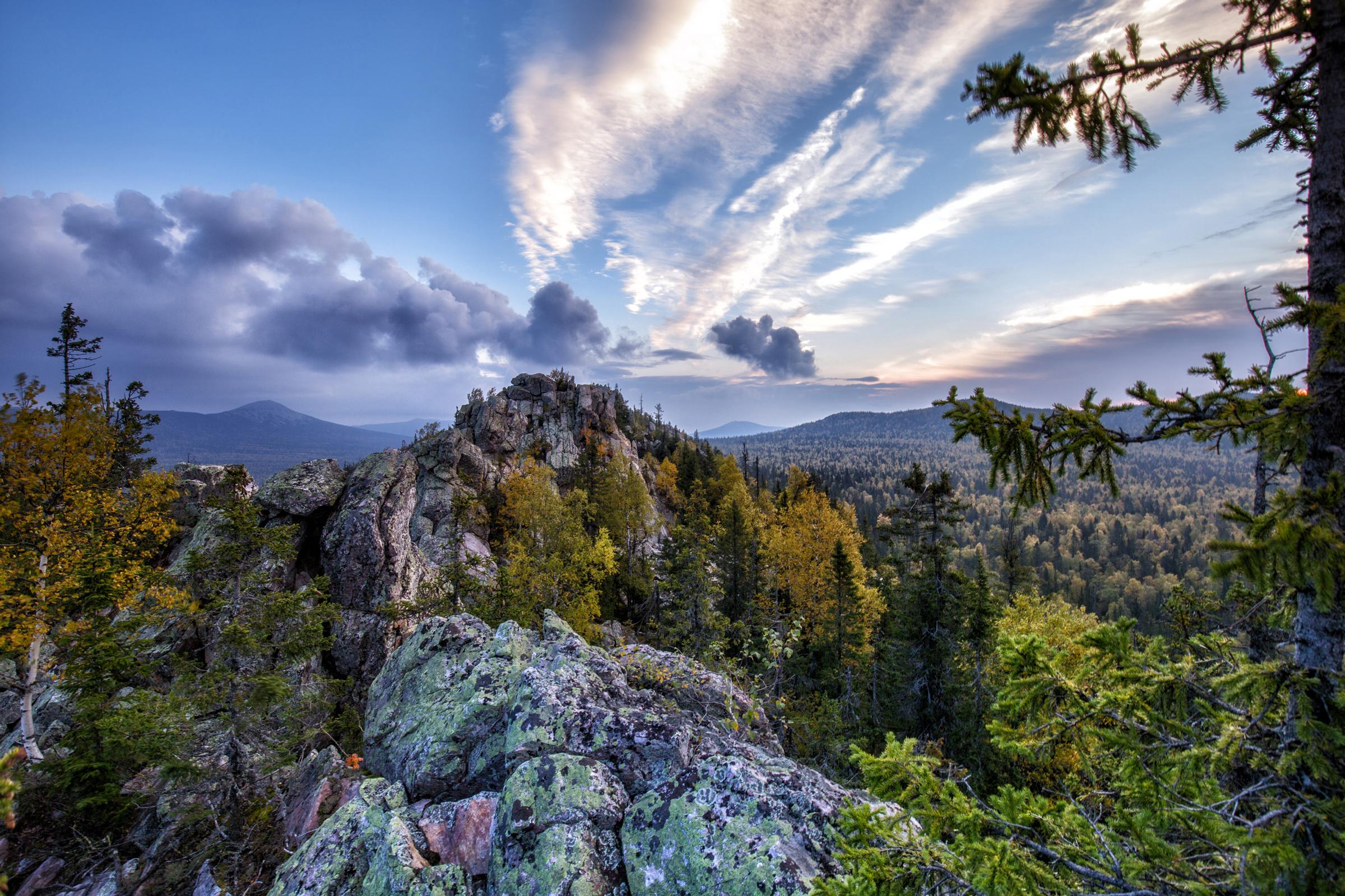 Хребет Средний Таганай (29.09.2014)