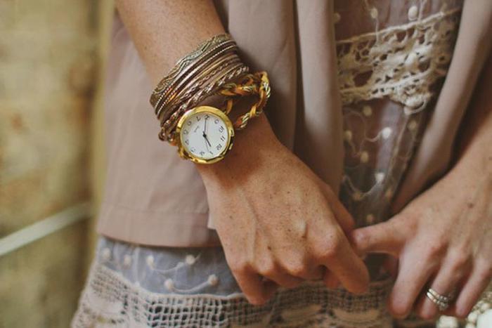 Ремешки на женские часы своими руками 652