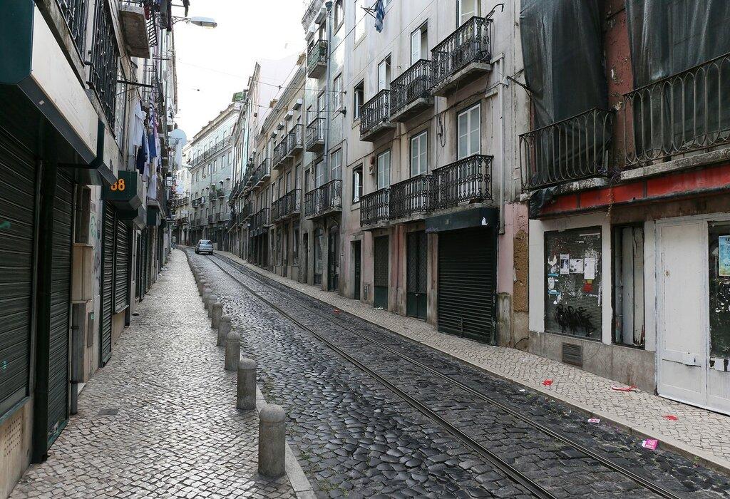 Lisbon. Rua dos Cavaleiros