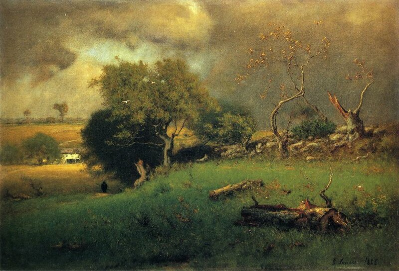 The Storm, 1885