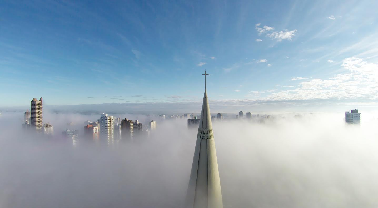 Первое место в категории «Места»: «Над туманом», автор Рикардо Матьелло