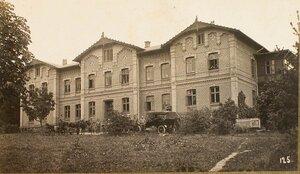 Вид дома, где размещался этапно-хозяйственный отдел штаба XII армии.