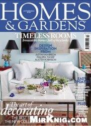 Homes & Gardens - №10 2013 (UK)